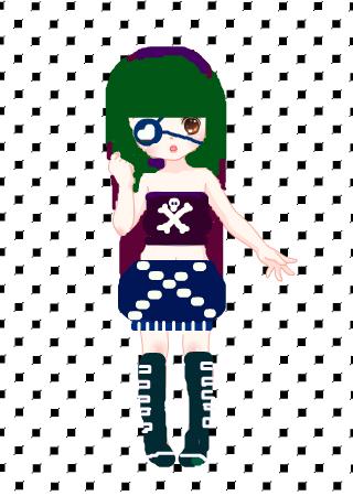 标  题: 可爱女海盗 作  者:熊吢棒棒糖 发布时间:2010年07月27日图片