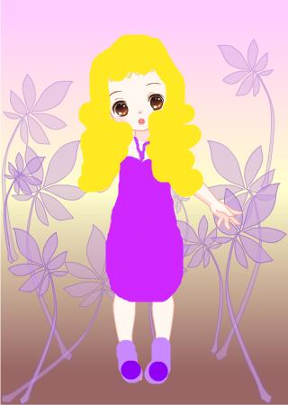标  题: 可爱小公主 作  者:欧若音 发布时间:2010年10月02日  作品