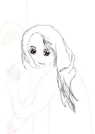 玛丽莲梦露手绘简笔画