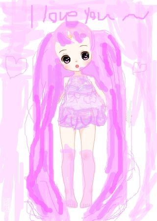 小可爱小公主 的涂鸦欣赏 作品编号[2816182] - 彩虹堂