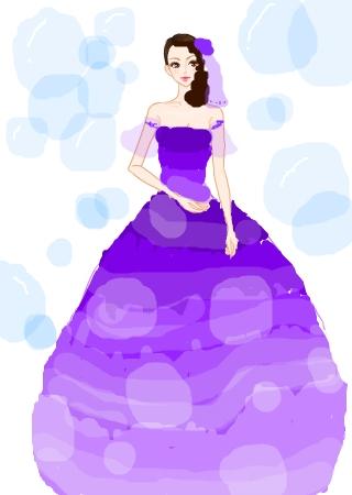 教我画公主简笔画