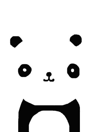 黑白相间大熊猫 的涂鸦欣赏 作品编号[2912714]