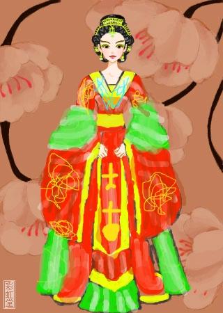 嫦娥仙子~ 的涂鸦欣赏 作品编号[3186236] - 彩虹堂