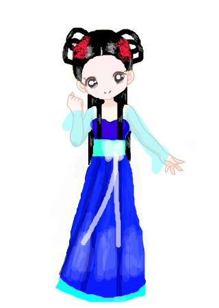 标  题: 活泼可爱的古代小女孩!