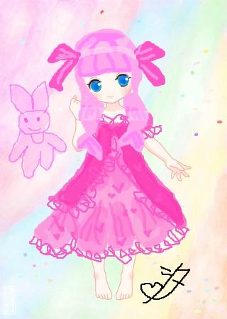 标  题: 【粉色浪漫小甜心】这个不出售哦!