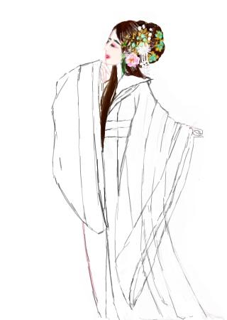 可爱彩虹简笔画手绘
