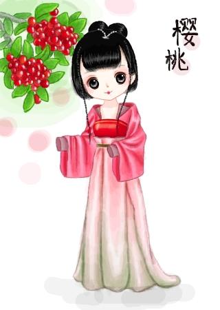 标  题: 【水果拟人·樱桃】水果拟人系列开始啦,先来小樱桃一只【求