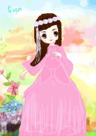 标  题: 随便画画,喜欢的就顺手给个花花吧~ 作  者:阳光公主 发布