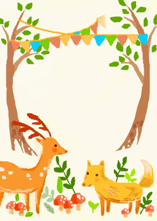 幼儿绘画作品加边框