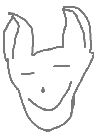 猫头简笔画可爱