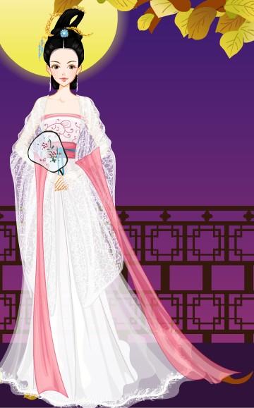 唐朝公主闺装