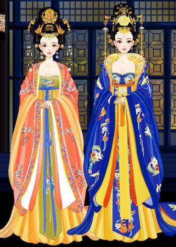 贵妃:姐姐,公主还是孩子心性呢.