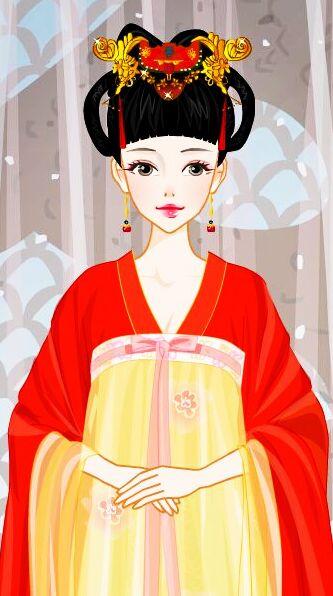 杨颖可爱萌图卡通手绘