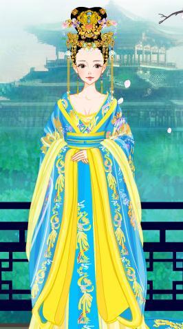 古可爱小公主简笔画