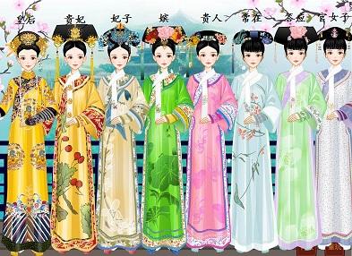 古代后宫嫔妃等级_后宫嫔妃等级-求所有后宫妃嫔等级表非常完整的哟~