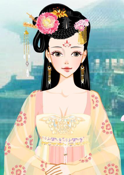 唐朝妃子图片_清朝皇后娘娘头饰图片图片_清朝皇后娘娘头饰图片图片下载