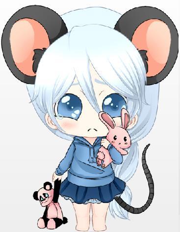 萌萌哒的老鼠