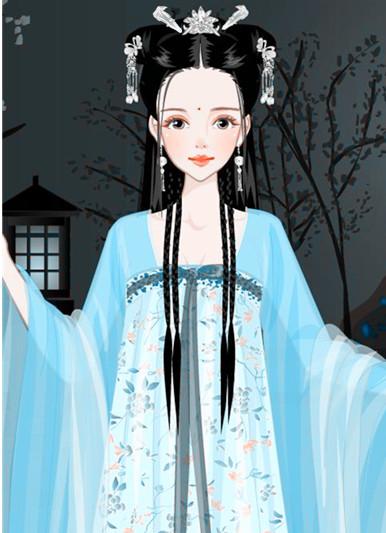 公主出宫装