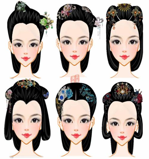 月伴清风主页2015-07-17 小清新的汉朝头饰~[汉朝的发型简洁,发饰图片