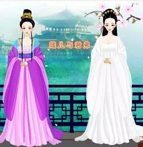 陆贞传奇萧唤云装扮  武媚娘传奇唯美装扮  《古代换装小游戏专题》图片