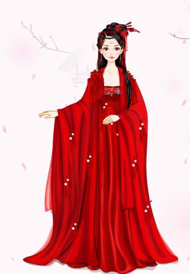 红衣美人——墨瑺