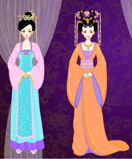 范冰冰李晨主页2016-01-24 宫中的三位好姐妹,分别是三公主,四公主,五