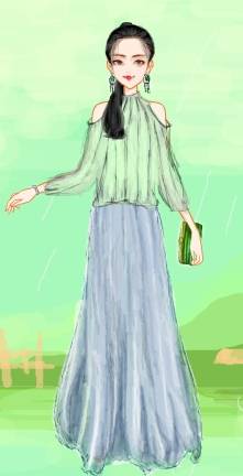 夏目游戏里活泼可爱清纯的服装