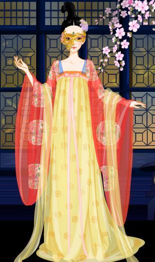 古风礼服设计图