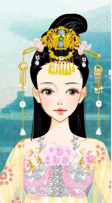 现代女神,古代舞女