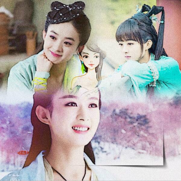 孤独范~主页2016-06-25 赵丽颖 善良的若楠,美腻的碧瑶,可爱的颖宝!