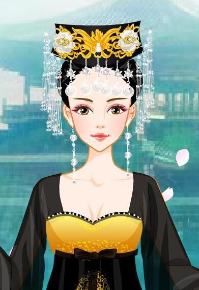 彝族文化卡通人物