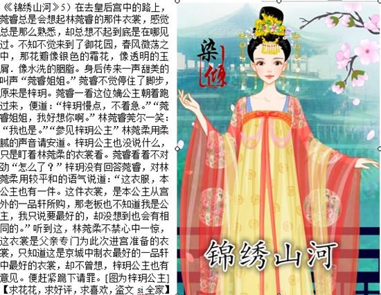 杨颖素描手绘图