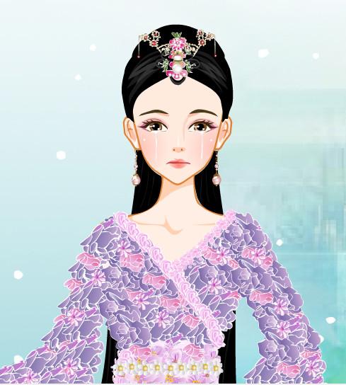 汉朝贵妃发型分享展示图片