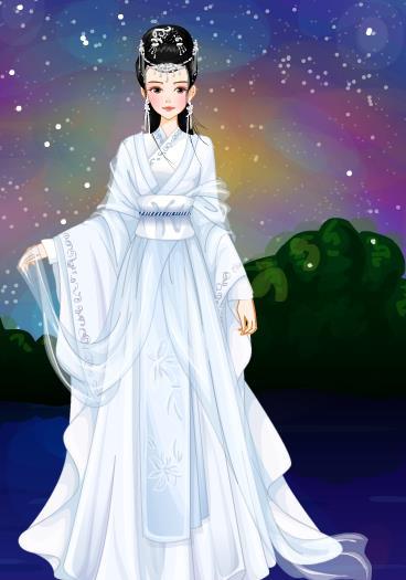 青丘之国九尾白狐族,白止帝君最小的女儿,青丘五荒之东荒的女君,白浅