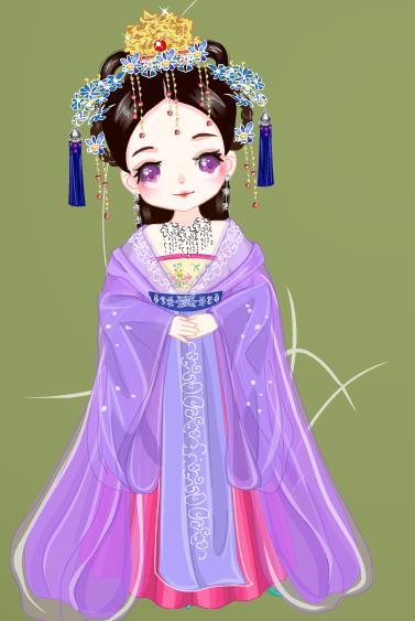 琪可爱彩虹娃娃